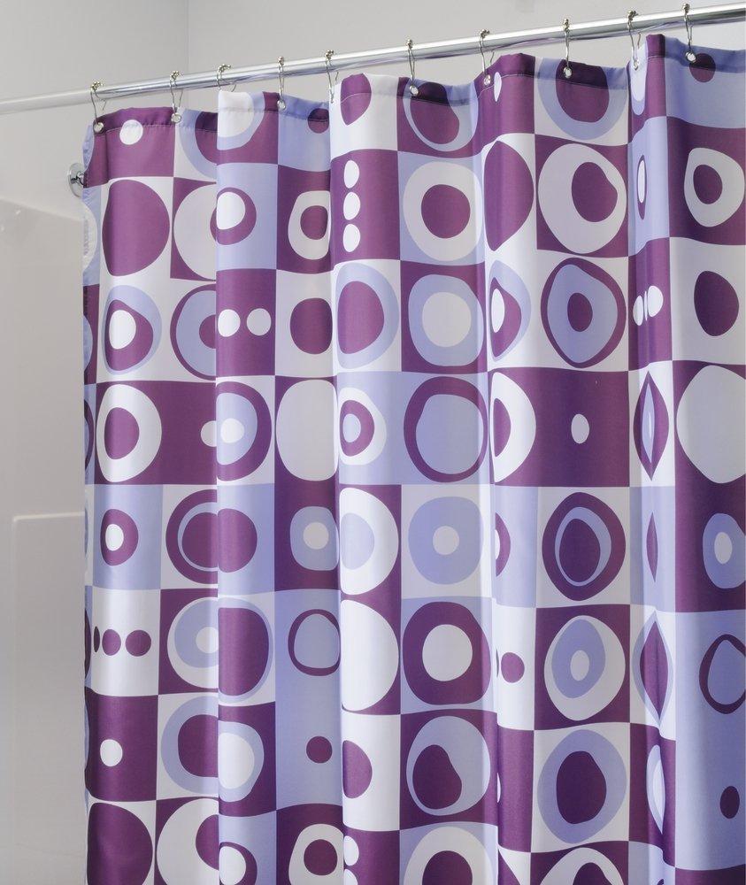 shower curtain retro