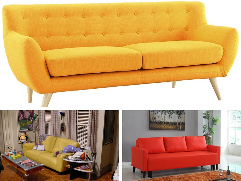 joey apartment inspired sofa